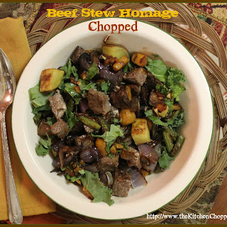 Beef Stew Homage Chopped
