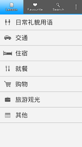 旅行者发声词典 翻译