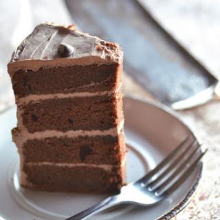 Chocolate & Hazelnut Birthday Cake