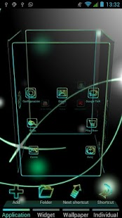 Glow Next Launcher 3D Theme- screenshot thumbnail