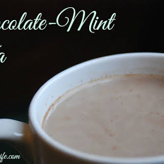 Chocolate Mint Tea.
