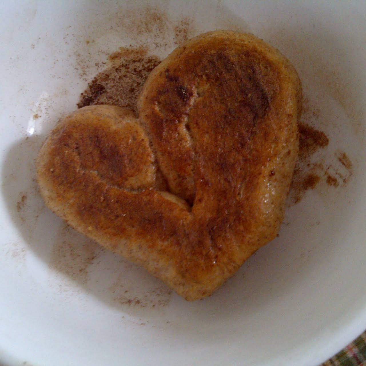 Pretzel Hearts (vegan Friendly)