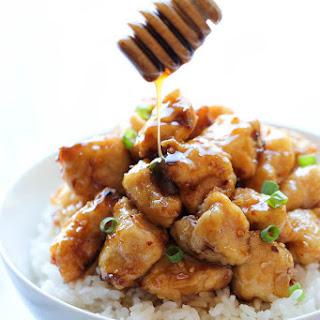 Asian Honey Chicken.