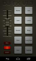 Screenshot of DJ FX Custom Soundboard