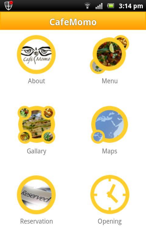 CafeMomo- screenshot