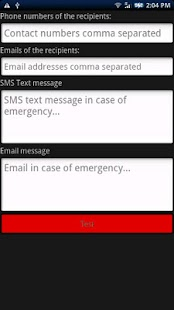 Emergency Alert Button (SOS) - screenshot thumbnail