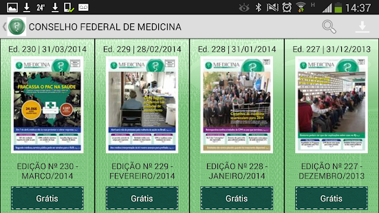 CFM Publicações - screenshot thumbnail