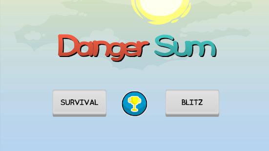 Danger Sum -Survival and Blitz
