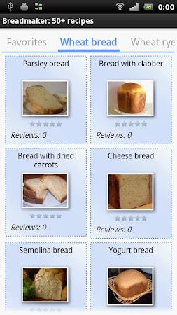 Breadmaker: 50+ recipes 13 screenshot 463173