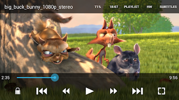 Screenshot of GoodPlayer Pro for Android