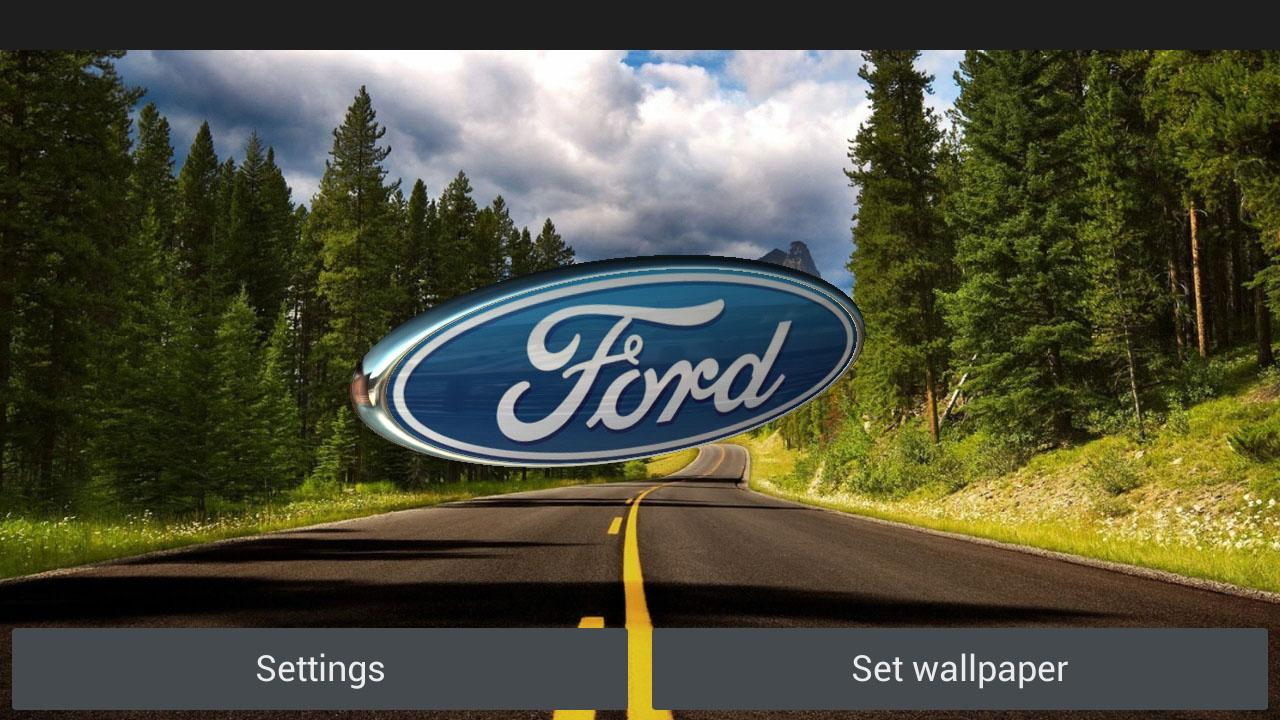 3d ford logo hd live wallpaper cool ford logos 3d ford logo hd live wallpaper voltagebd Images