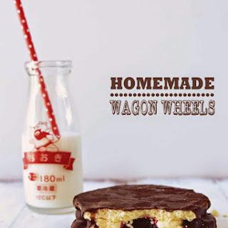 Homemade Wagon Wheels