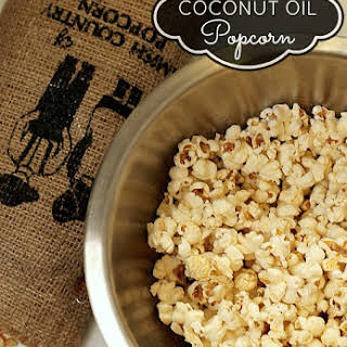 Flavored Popcorn Oil Recipes.