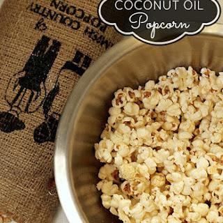 Coconut Oil Snacks Recipes.