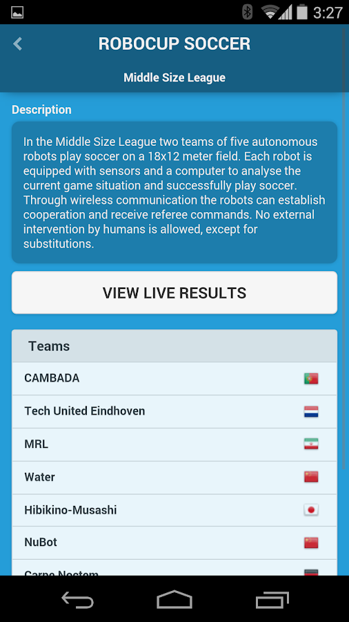 RoboCup Brazil 2014- screenshot