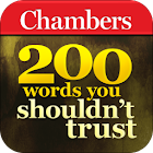 Chambers 200 Words–Don't Trust icon