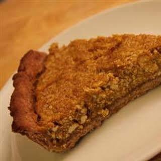 Kabocha Squash Pie (Japanese Pumpkin Pie).