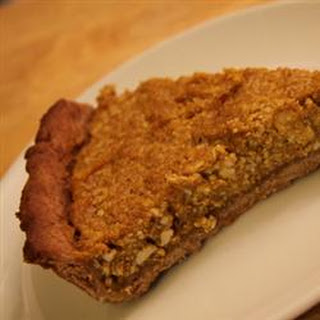 Kabocha Squash Pie (Japanese Pumpkin Pie).