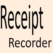 Receipt Recorder