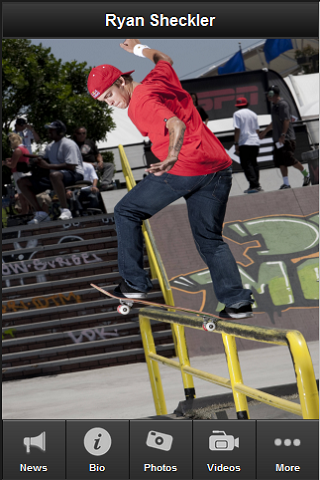 Ryan Sheckler Fan App