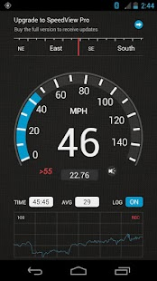 SpeedView: GPS Speedometer: miniatura da captura de tela