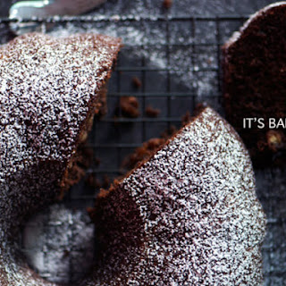 Chocolate-Banana Bundt Cake
