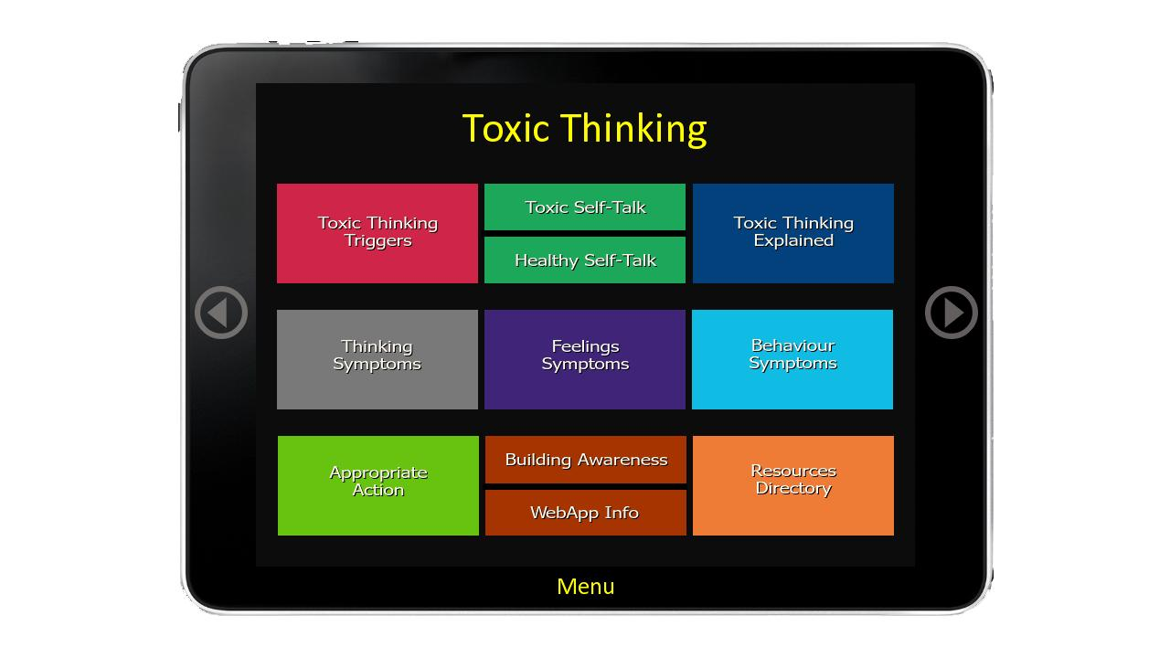 Toxic Thinking- screenshot
