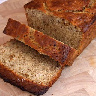 Agave- Sweetened Low Fat Banana Bread.