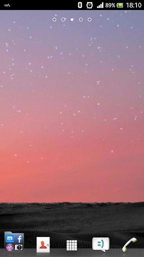 Shooting Star Live Wallpaper