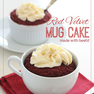 Red Velvet Mug Cakes – Low Carb and Gluten-Free.