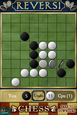 Reversi Free Screenshot