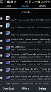 GetThemAll Any File Downloader - screenshot thumbnail