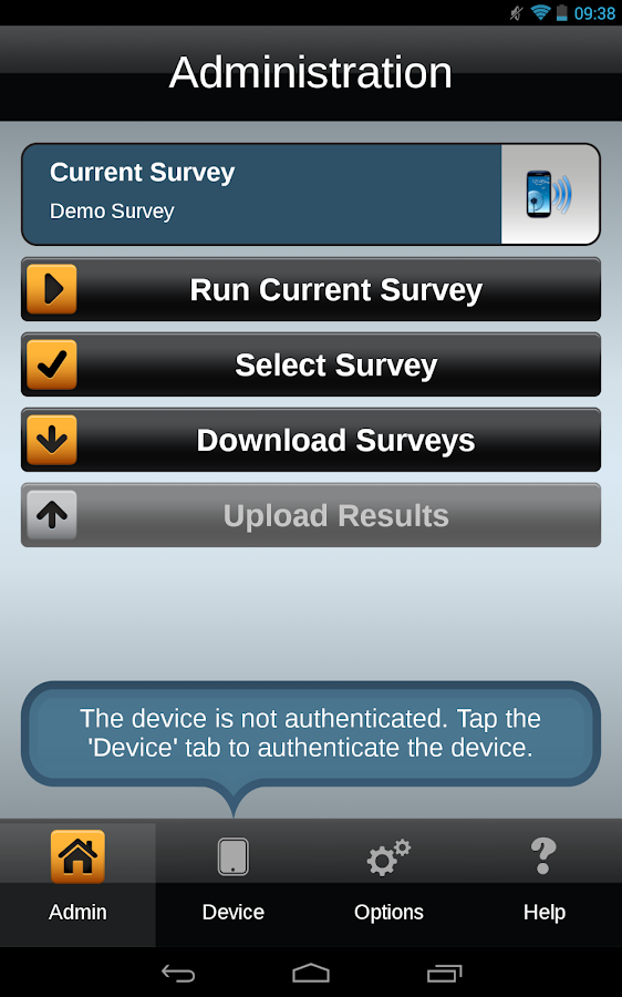 droid Survey Offline Forms- screenshot