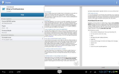PrintHand Mobile Print Premium v7.0.0