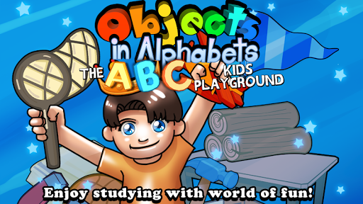 Objects in Alphabets kids ABC