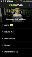 Screenshot of radioPup