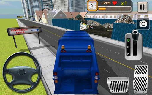 清理你的城市從垃圾車模擬器