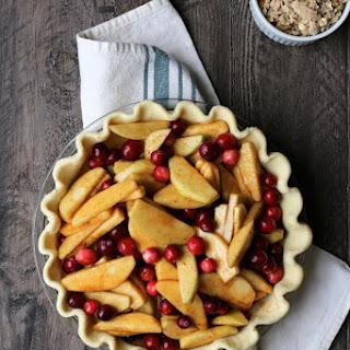 Apple Cranberry Crumble Pie.