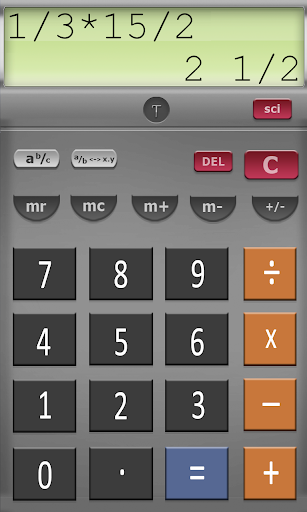 【免費生產應用App】Scientific Fraction Calculator-APP點子