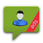 Share Contacts via SMS (Ads) icon