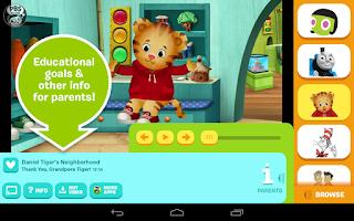 Screenshot of PBS KIDS Video