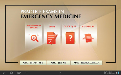 Emergency Med Exam for Tablet