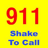 Shake to Call 911