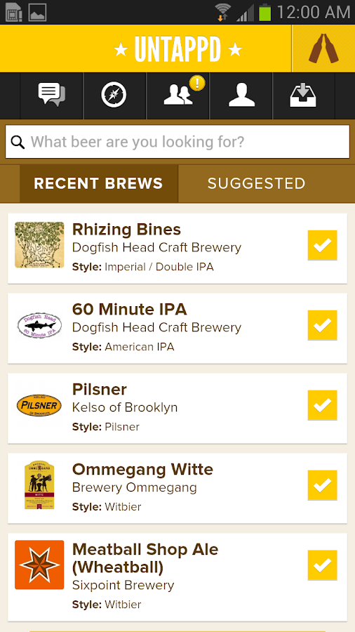 Untappd - Discover Beer - screenshot
