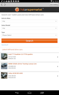 LHD Car Supermarket- screenshot thumbnail