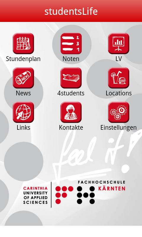 studentsLife by FH Kärnten - screenshot