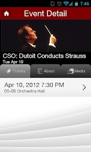 Chicago Symphony Orchestra - screenshot thumbnail