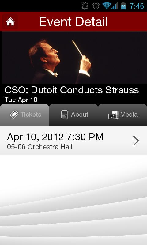 Chicago Symphony Orchestra- screenshot