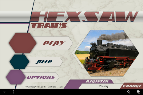 HexSaw - Trains