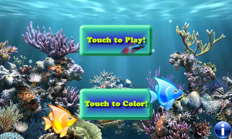 Fishes for toddlers FREE - screenshot